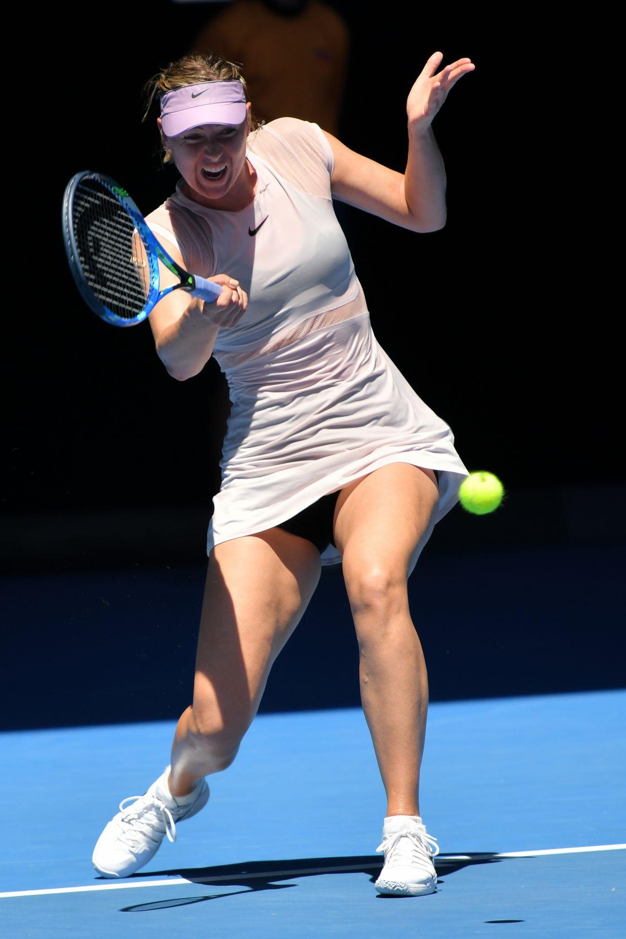 Maria Sharapova – Australian Open 01/18/2018 Carey Mulligan Facebook