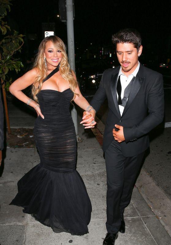 Mariah Carey at Poppy Nightclub in West Hollywood