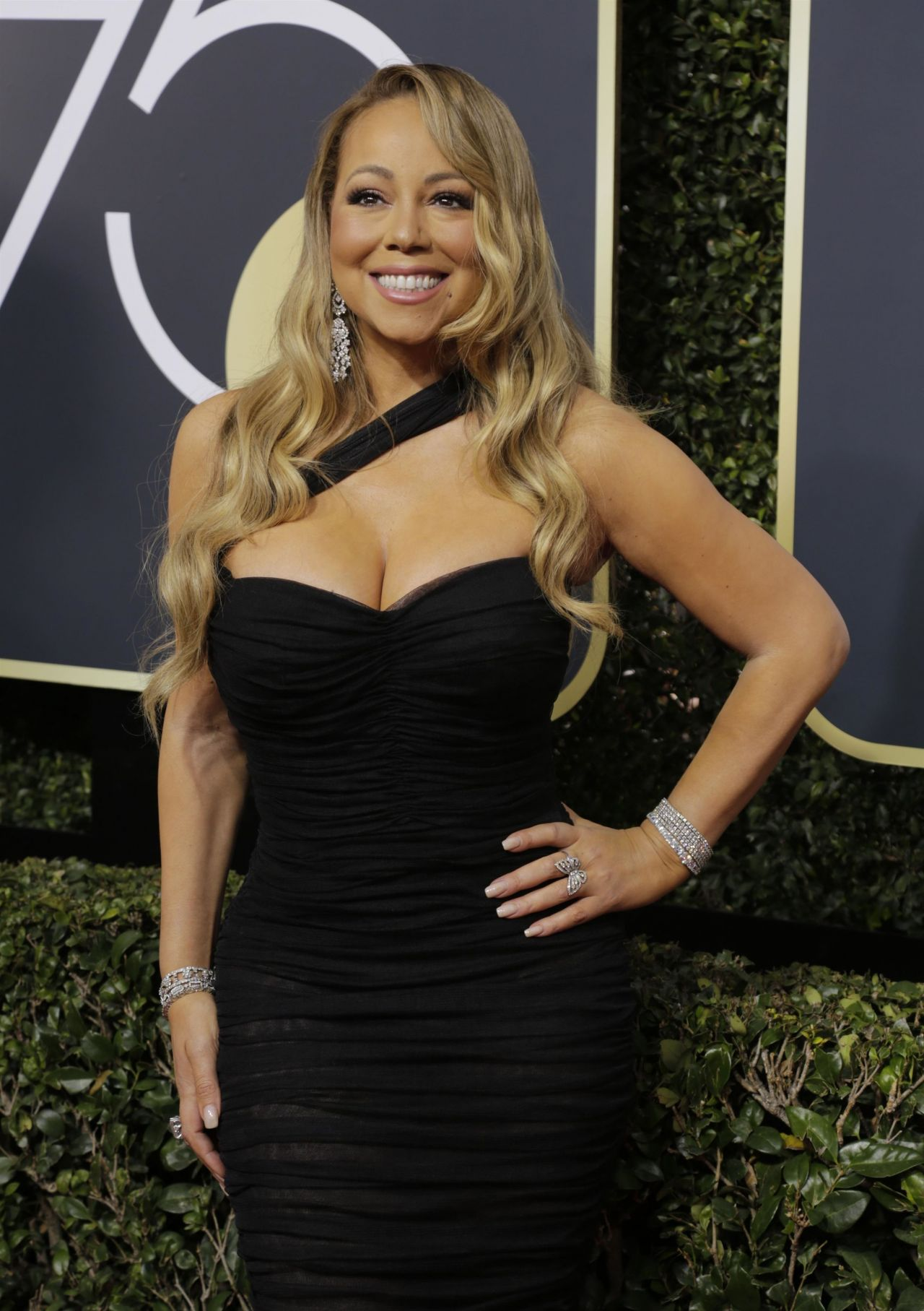 Mariah Carey Golden Globe Awards 2018