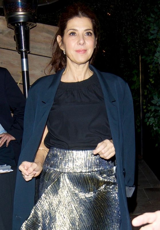Marisa Tomei at Poppy for ICM pre Golden Globes Party in LA