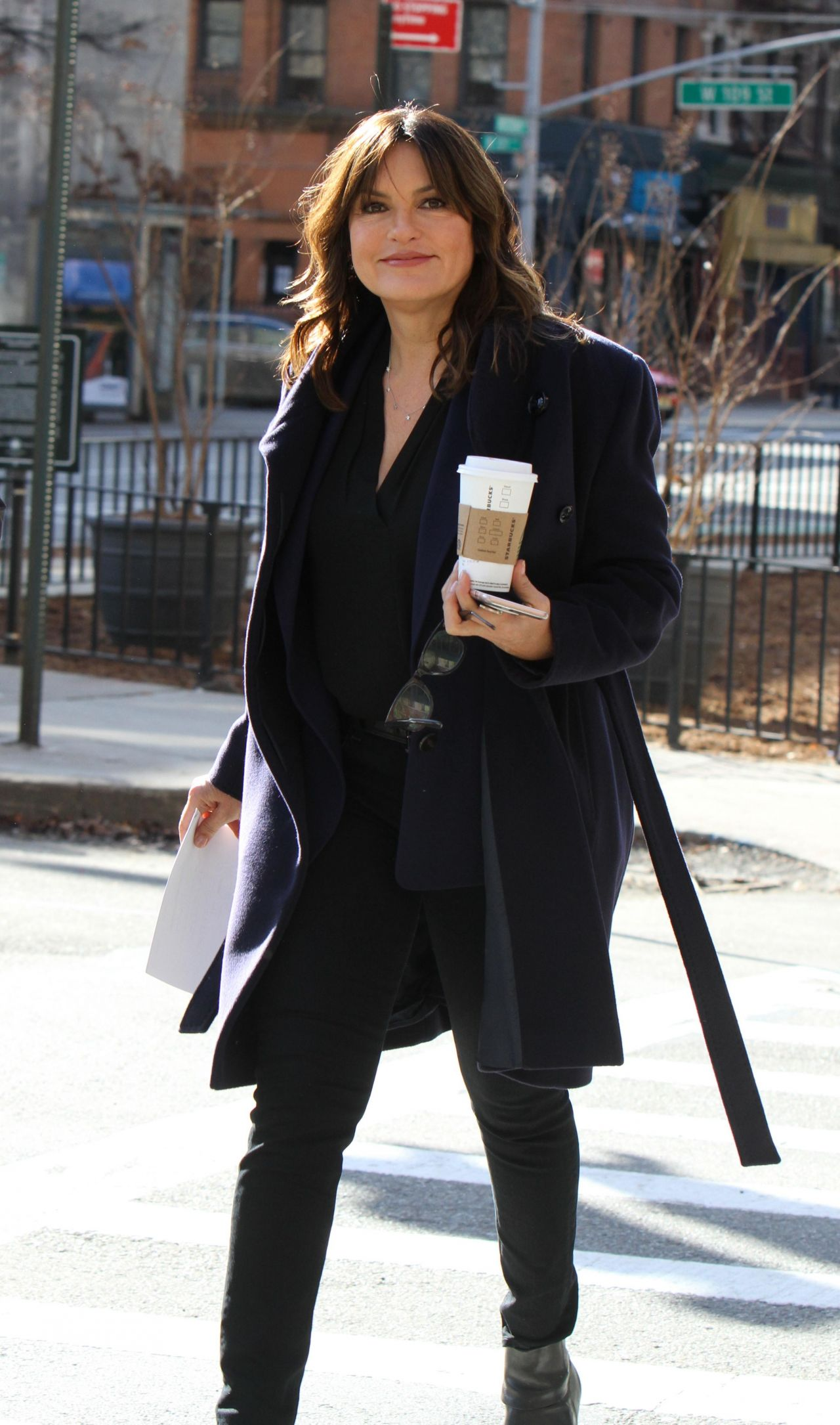 Mariska Hargitay Quot Law And Order Svu Quot Set In New York City