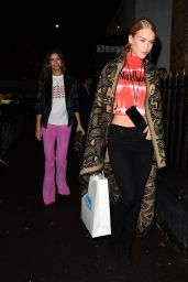 Mary Charteris – Alexa Chung Clothing Range Launch London