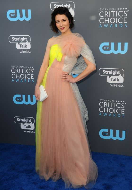 Mary Elizabeth Winstead – 2018 Critics' Choice Awards