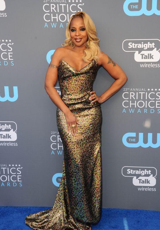 Mary J. Blige – 2018 Critics' Choice Awards