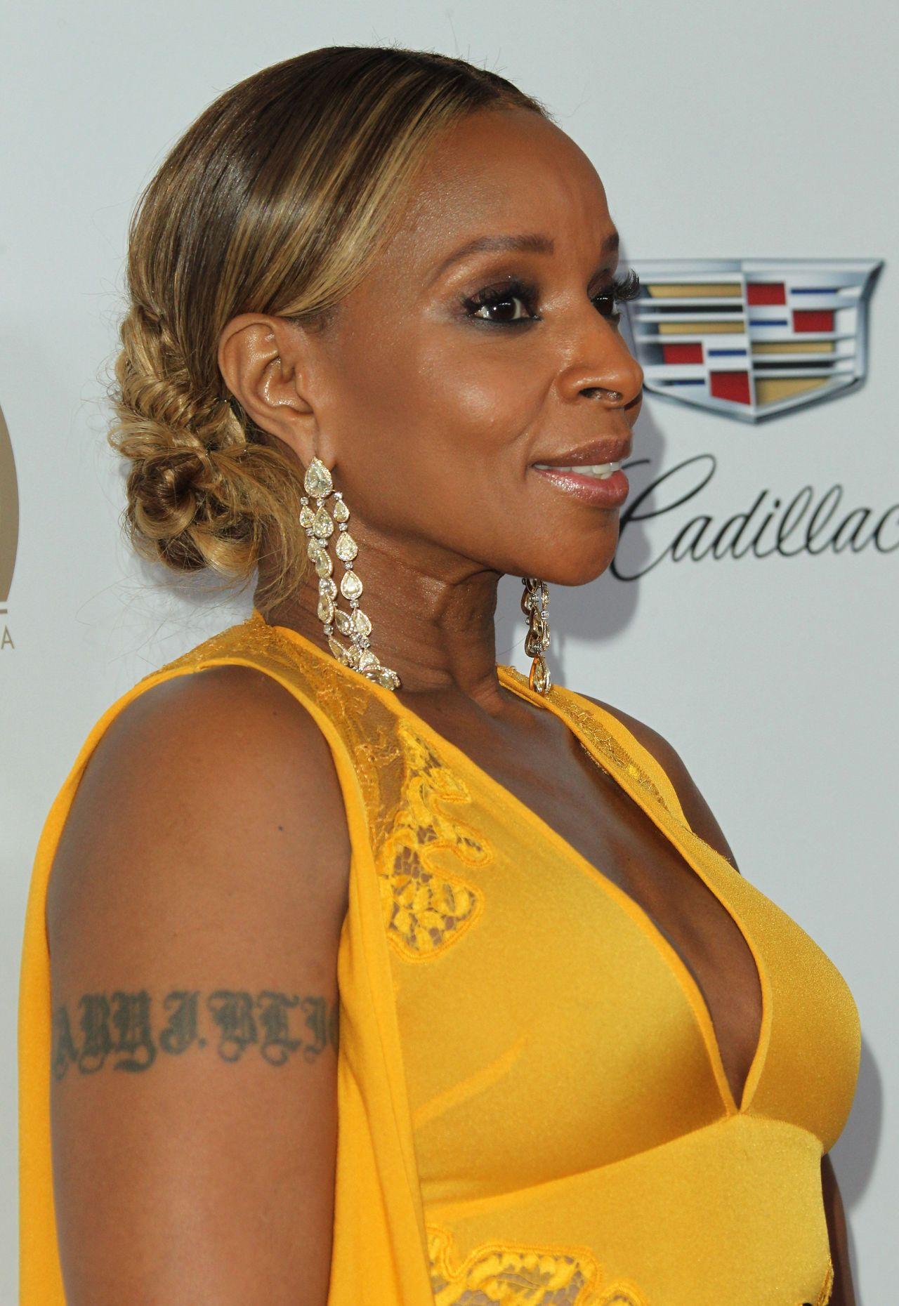 Mary J Blige 2018 Pga In Beverly Hills