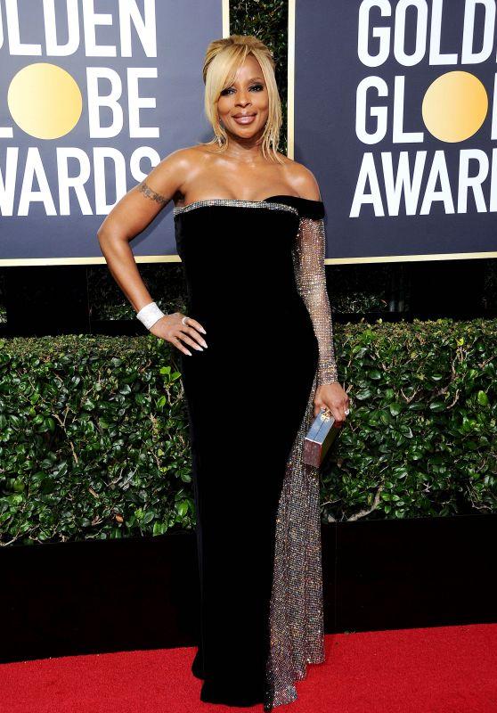 Mary J. Blige – Golden Globe Awards 2018