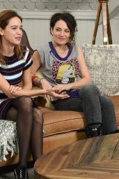 Matilda Lutz and Coralie Fargeat - Variety Studio at Sundance in Park City