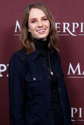 "Maya Thurman-Hawke – ""Little Women"" TV Show Panel at the TCA Winter Press Tour in LA"