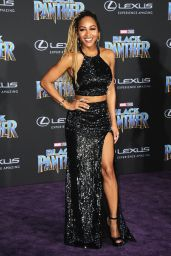 """Meagan Good – """"Black Panther"""" Premiere in Hollywood"""