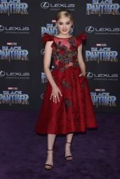 """Meg Donnelly – """"Black Panther"""" Premiere in Hollywood"""