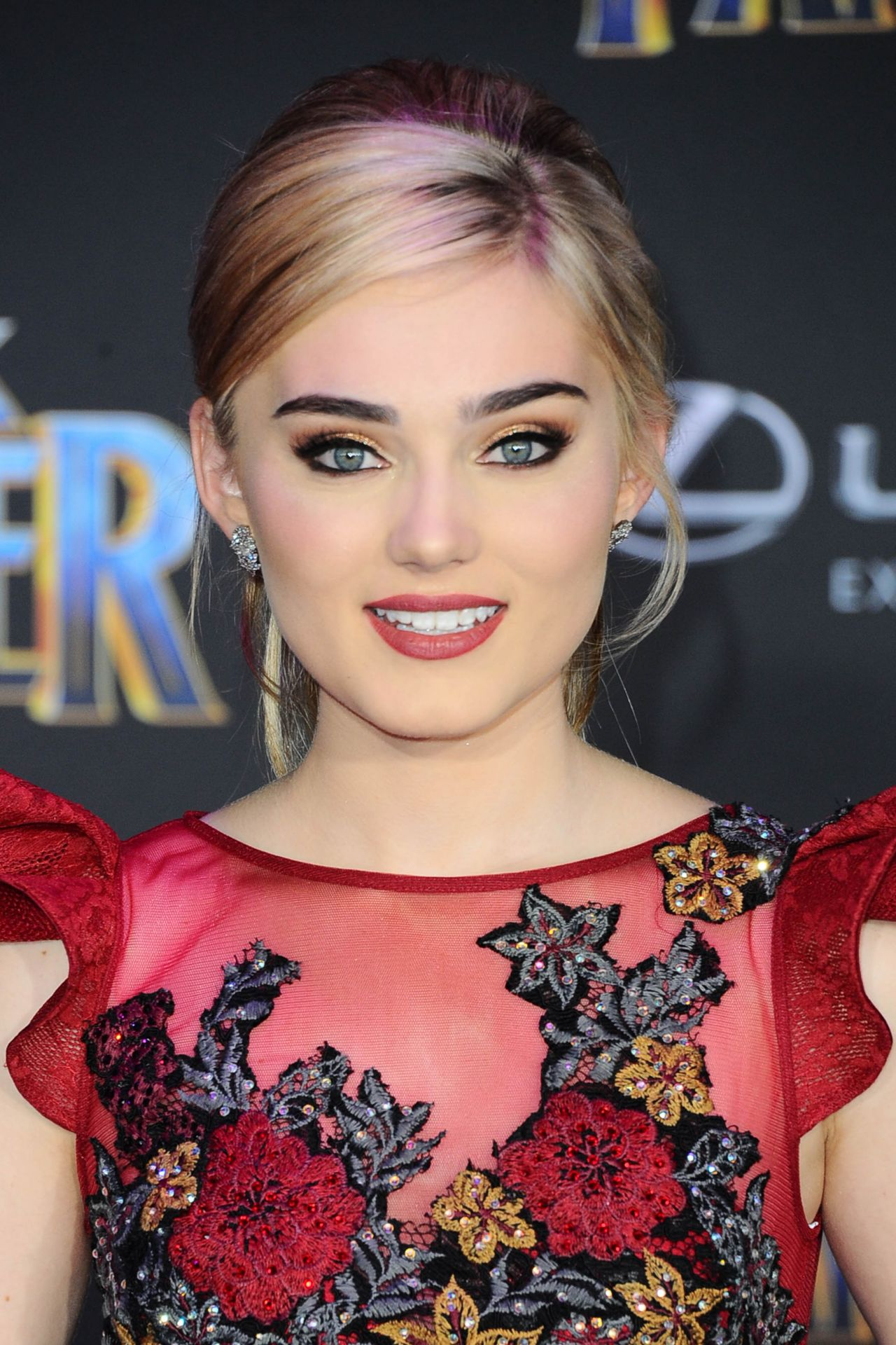 Meg Donnelly Black Panther Premiere In Hollywood