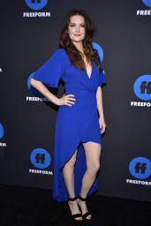Meghann Fahy – 2018 Freeform Summit in Hollywood