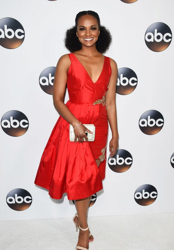 Mekia Cox – ABC All-Star Party in LA