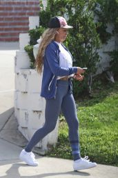 Melanie Janine Brown in Beverly Hills 01/17/2018