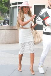 Melanie Janine Brown is Stylish - Arrives at Her Office in LA