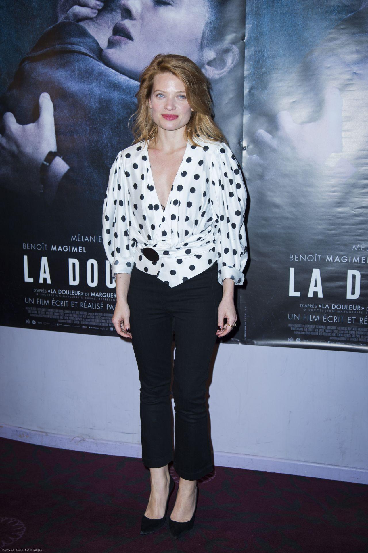 """Melanie Thierry - """"La Douleur"""" Premiere in Paris"""