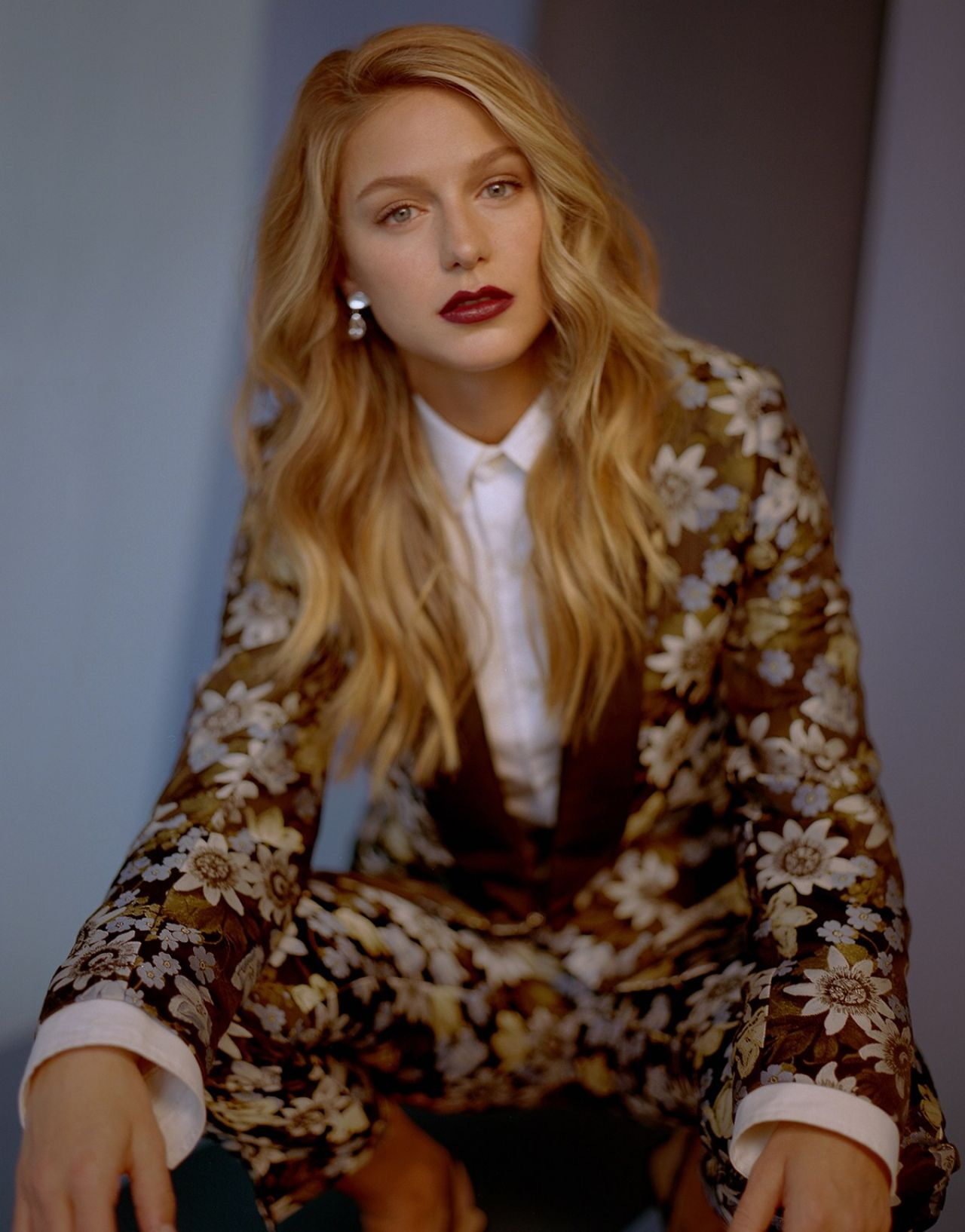 Melissa Benoist Photoshoot For W Magazine 2018