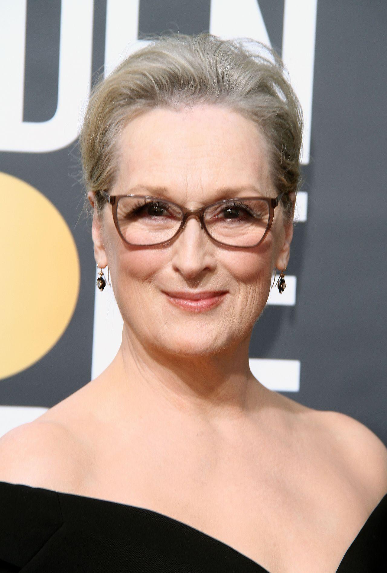 Meryl Streep Golden Globe Awards 2018
