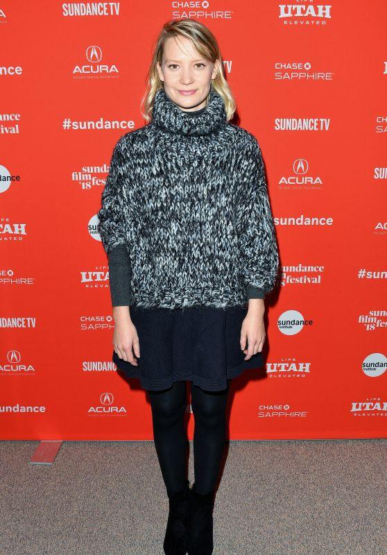 "Mia Wasikowska - ""Damsel"" Premiere at 2018 Sundance Film Festival"
