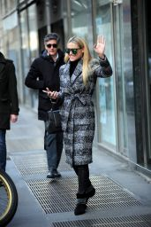 Michelle Hunziker on Her 41st Birthday Out in Milan