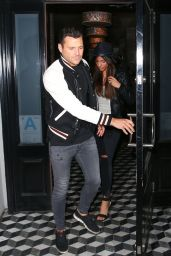 Michelle Keegan and Mark Wright Leaving Craig