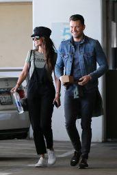 Michelle Keegan and Mark Wright Walk Around The Grove in LA