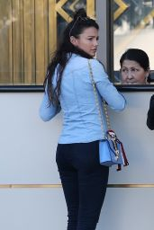 Michelle Keegan at the Waldorf Astoria in Beverly Hills