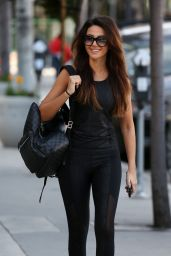 Michelle Keegan - Heads to the Gym in LA 01/24/2018