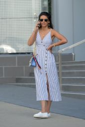 Michelle Keegan - Leaving the Soho House in West Hollywood