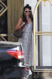 Michelle Keegan - Leaving the Waldorf Astoria Hotel in Beverly Hills