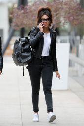Michelle Keegan Urban Street Style - Leaving the Gym in LA