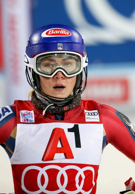 Mikaela Shiffrin at Alpine Skiing - FIS World Cup Flachau, Austria, 01/09/2018