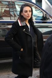 Mila Kunis - Harvard Campus in Cambridge 01/25/2018
