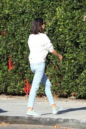 Mila Kunis in Casual Outfit Out in Los Angeles