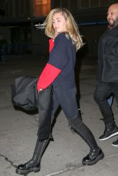 Miley Cyrus - Leaves Madison Square Garden in NYC