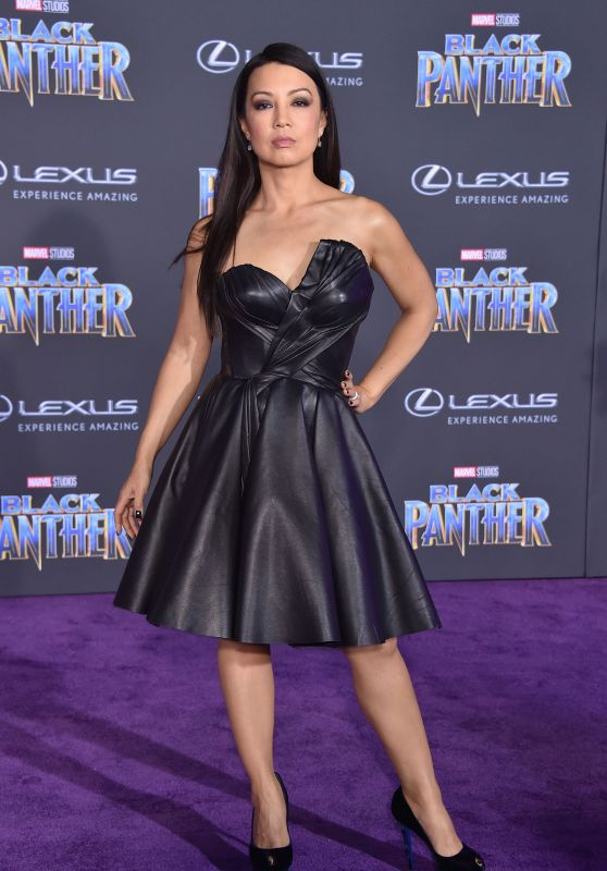 """Ming-Na Wen – """"Black Panther"""" Premiere in Hollywood"""