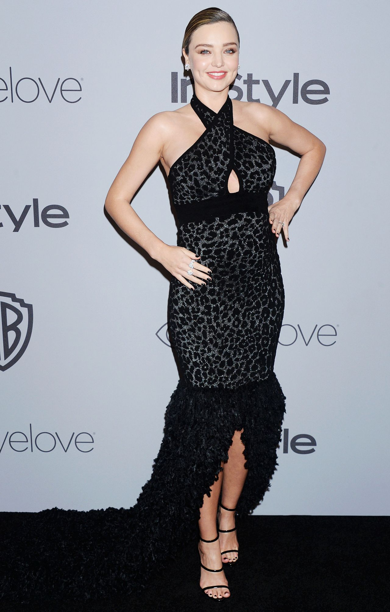 Miranda Kerr Instyle And Warner Bros Golden Globes After Party Lily James Feet
