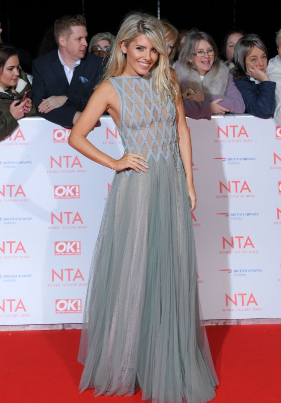 Mollie King – 2018 National Television Awards in London