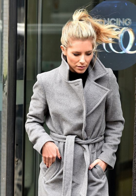 Mollie King Street Fashion - Out in London 01/03/2018