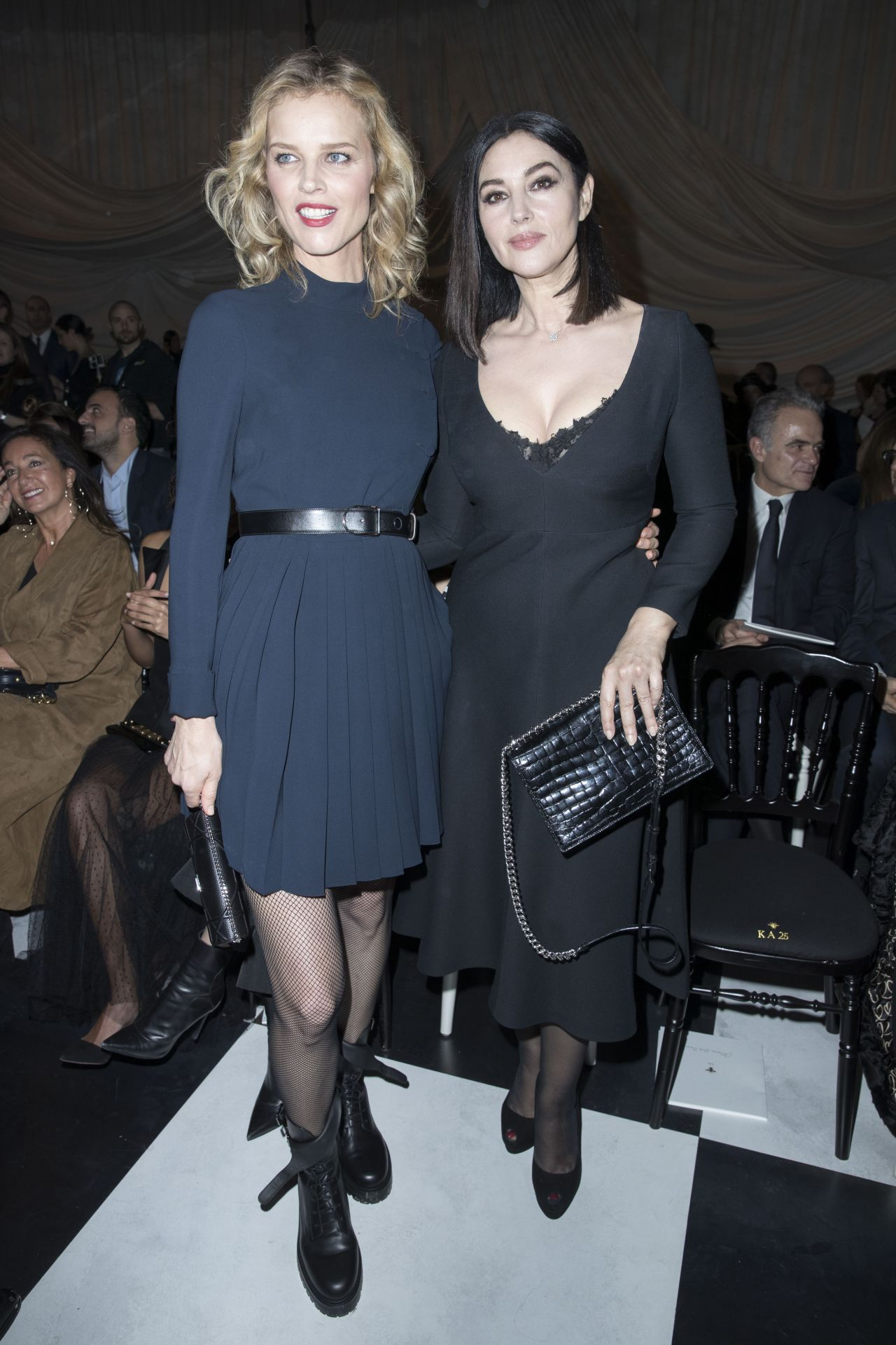Monica Bellucci Christian Dior Fashion Show In Paris 01