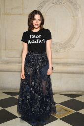 Morgane Polanski at Christian Dior Show Spring Summer 2018 in Paris