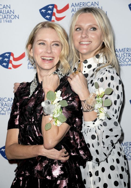 Naomi Watts and Laura Brown - Australia Day Arts Awards in New York