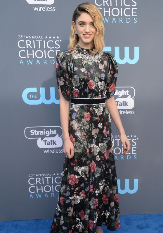 Natalia Dyer – 2018 Critics' Choice Awards