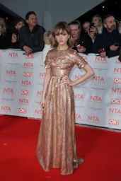 Natalia Dyer - 2018 National Television Awards in London