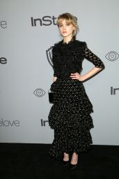 Natalia Dyer – InStyle and Warner Bros Golden Globes 2018 After Party