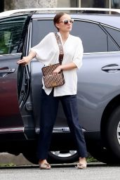 Natalie Portman in Casual Outfit Out in Los Angeles