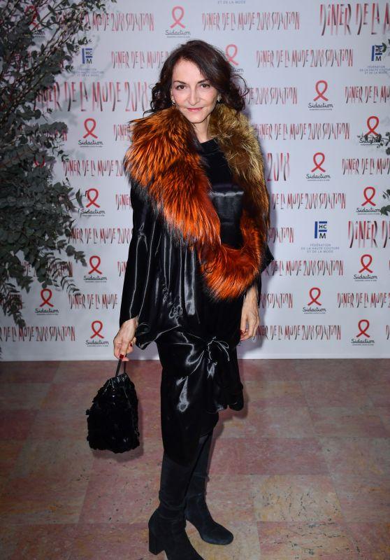 Nathalie Rykiel – 2018 Sidaction Gala Dinner in Paris