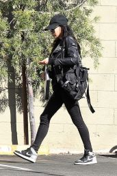 Naya Rivera Urban Street Outfit - Out in LA