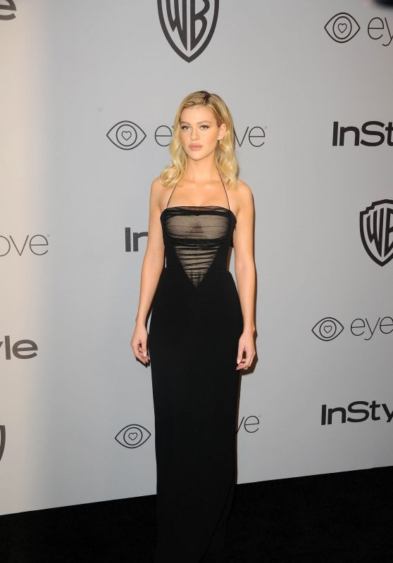 Nicola Peltz – InStyle and Warner Bros Golden Globes 2018 After Party
