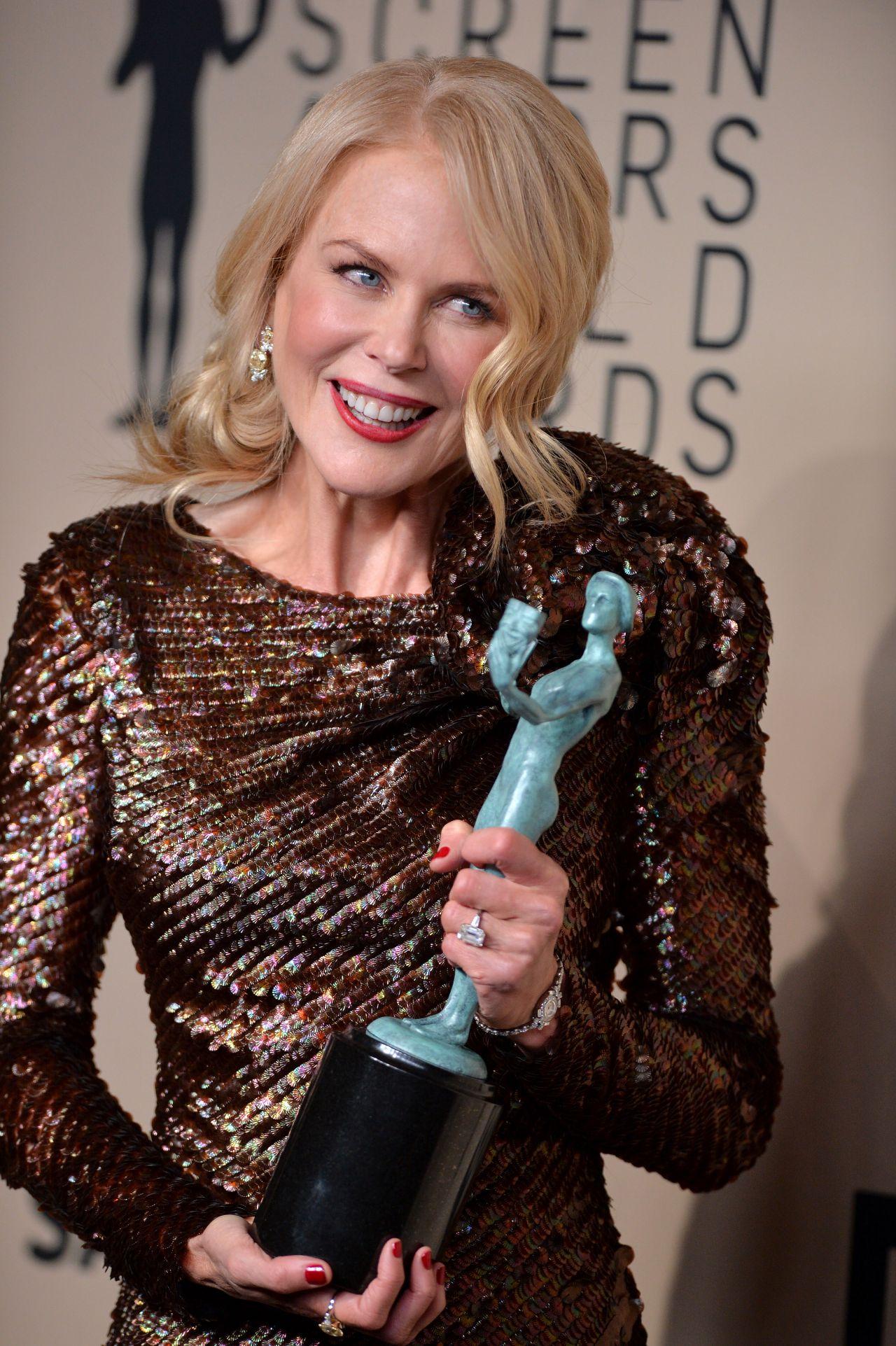 Nicole Kidman 2018 Sag Awards In La